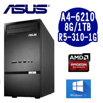 ASUS華碩 K30DA A4-6210 雙核文書Win10套裝電腦(K30DA-0021A621R5T)