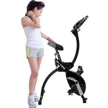 《X-BIKE》划船健身車 划船器+健身車、顛覆傳統新寵上市!! X2000(曜石黑)