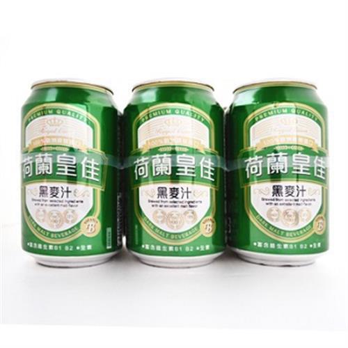 荷蘭皇佳 黑麥汁(強效B群)(330ml/罐 x 6 / 組)