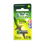 《G.Sir's》汽車遙控器電池 27A