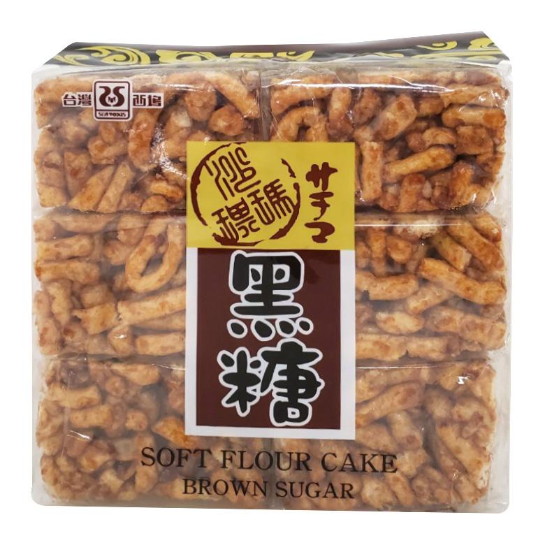 《西塢》黑糖沙琪瑪(450g/包)