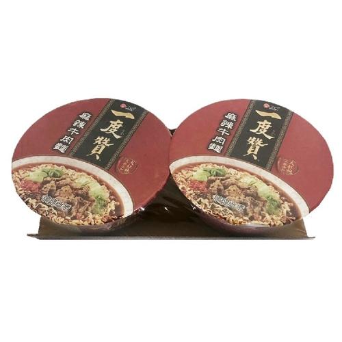 一度贊 麻辣牛肉(185g*2碗)