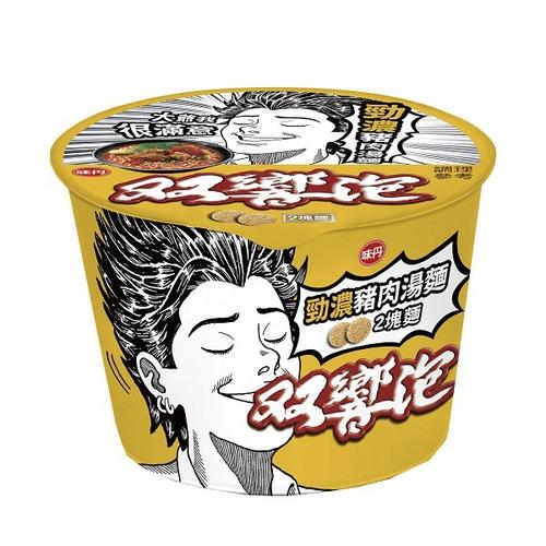 雙響泡 勁濃豬肉湯麵(106g*3/組)