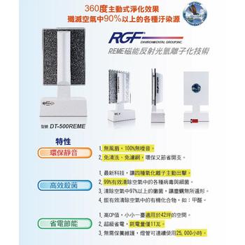 RGF - inside DT-500REME 家用空氣淨機( 適用22坪空間 )(白色)