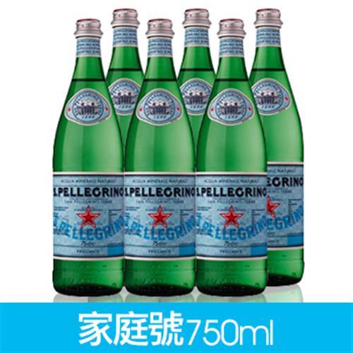 聖沛黎洛 氣泡礦泉水(750ml/瓶X6/組/塑膠瓶)