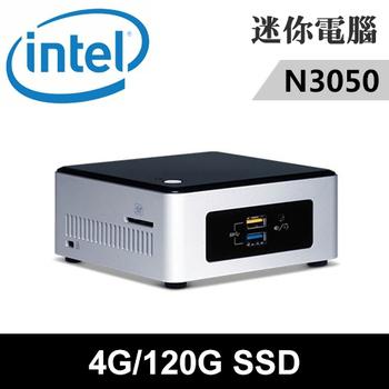 英特爾 INTEL Intel NUC5CPYH-04120N 特仕版 迷你電腦((N3050/4G/120G SSD))