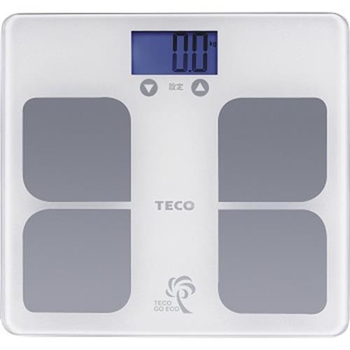 東元 BMI藍光體重計(XYFWT521)