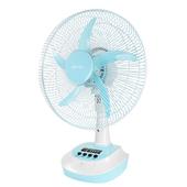 《KINYO》彩色充電風扇CF-1401