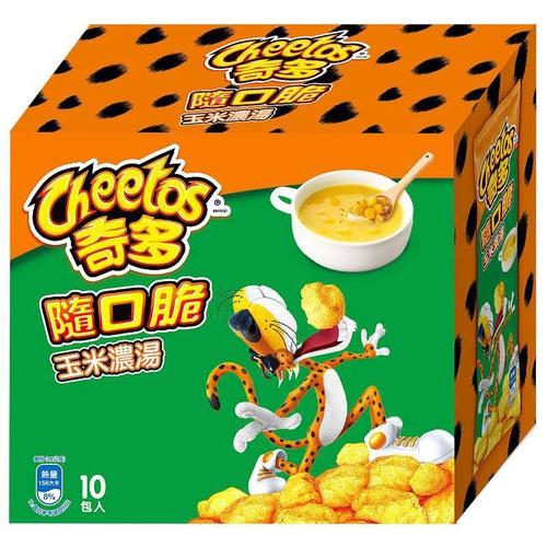 奇多 隨口脆玉米濃湯味玉米脆(280g/包)