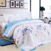 【Betrise 竹韵染意】加大-頂級300支紗100%天絲TENCEL四件式兩用被床包組