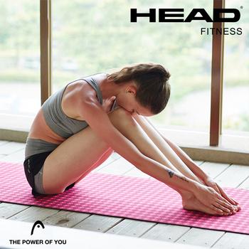 《HEAD 海德》天然絨布 瑜珈墊