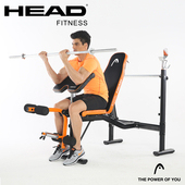 《HEAD 海德》多功能舉重訓練床 H781
