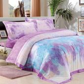 【Betrise鳳凰之韻】加大-頂級300支紗100%天絲TENCEL四件式兩用被床包組