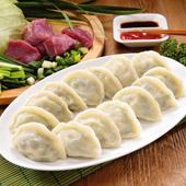 《禎祥》豬肉韭菜水餃 (約100粒)