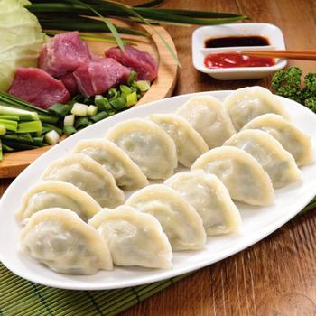 禎祥 豬肉韭菜水餃 (約100粒)