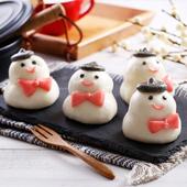 《禎祥》雪人甜包-地瓜餡 (10粒)