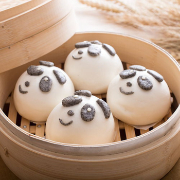 禎祥 小熊甜包-紅豆芝麻餡 (10粒)