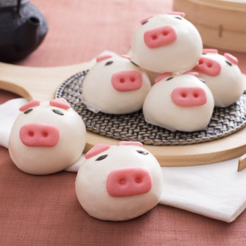 禎祥 小豬甜包-芋頭餡 (10粒)