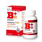 《台塑生醫》緩釋B群雙層錠(60錠/盒)