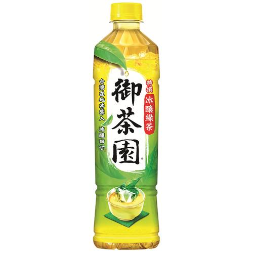 御茶園 特撰冰釀綠茶(550ml*4瓶/組)