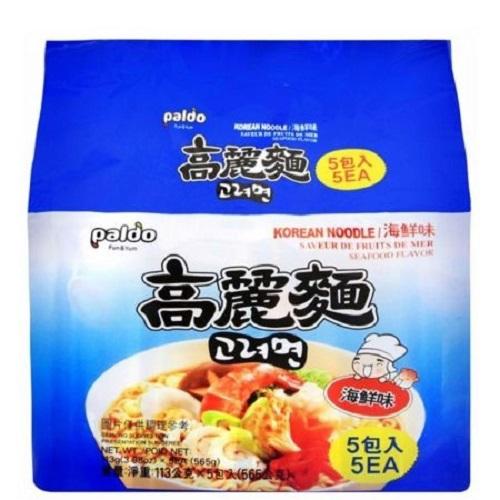 PALDO 高麗麵-海鮮味(113G*5包/袋)