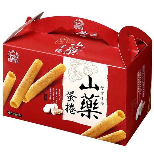 《喜年來》山藥蛋捲手提量販盒(320g)