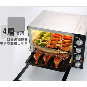 Kolin歌林 35L三溫控油切旋風大烤箱(KBO-LN351)