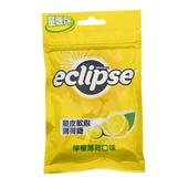《Eclipse 易口舒》脆皮軟心薄荷糖-檸檬薄荷(60g)