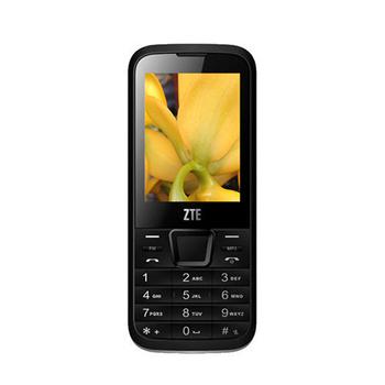 ZTE F320 經典直立式手機(黑)