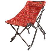 《KAZMI》包覆型輕鬆折疊椅(紅色) #K5T3C002RD
