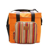 《Camping Scape》軟式行動冰箱-橘色/咖啡色 2色 #8809452770088、8809452770095(橘)