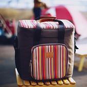 《Camping Scape》軟式行動冰箱-橘色/咖啡色 2色 #8809452770088、8809452770095(咖啡)