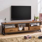 《Homelike》利克工業風6尺電視櫃