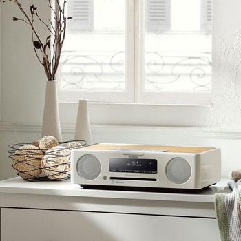 ★YAMAHA 【限量特價】山葉 TSX-B235 CD 藍芽 USB 桌上型 床頭音響 公司貨(經典白)