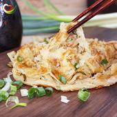 《慕鈺華》黃金蔥抓餅(140g/7片x4)