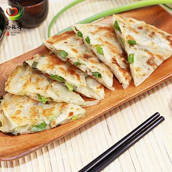 《慕鈺華》古早味蔥油餅(125g/5片x4)