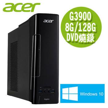 Acer宏碁 Aspire XC-780 Intel G3900雙核/8G/128 SSD/Win10桌上型電腦(AXC-780-007)