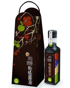 【甲仙農會】 有機 梅精醬油(210ml/瓶)