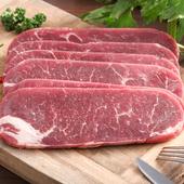 《快樂大廚》美國CAB安格斯超嫩肩牛排 (600g/6片/包)(X2包)