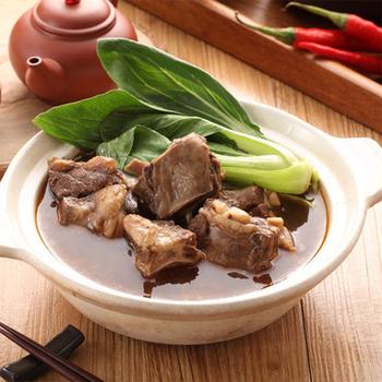 快樂大廚 紅燒小羔羊肋排爐 1kg/包 (肉重約:200g) 4入免運