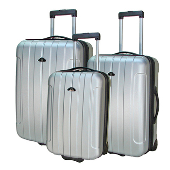 《ROYAL POLO皇家保羅》20+24+28吋簡約風兩輪ABS輕硬殼箱/旅行箱/行李箱(銀色)