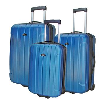 《ROYAL POLO皇家保羅》20+24+28吋簡約風兩輪ABS輕硬殼箱/旅行箱/行李箱(藍色)