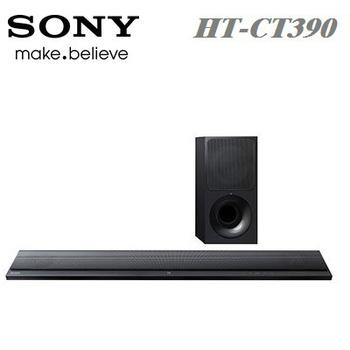 ★SONY 【限時特價↓】2.1 聲道 Soundbar 單件式 環繞音響 家庭劇院 HT-CT390 公司貨