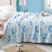【Betrise】寶貝熊-天竺棉針織舒適透氣涼被(150*200cm)