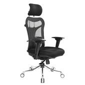 《吉加吉》多功能 高背半網 電腦椅 TW-999(黑色)
