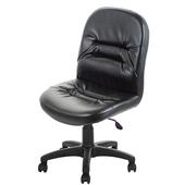 《GXG》短背皮面 無扶手電腦椅 (可後躺/塑膠腳) TW-1004EK(備註編號款式)