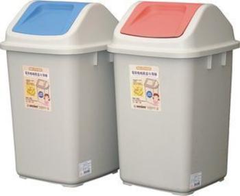美澄 環保媽媽附蓋垃圾桶(20L)
