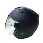 612半罩式安全帽(消光黑#XXL)