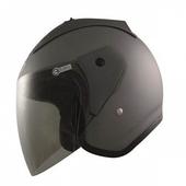 612半罩式安全帽 消光鐵灰#XL(消光鐵灰#XL)