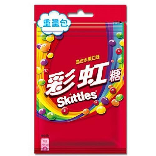 Skittles 彩虹糖混合水果口味(80g)